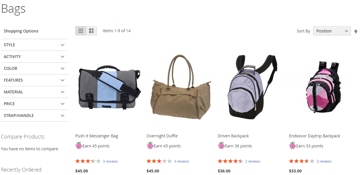 Check results after Upload the icon to Magento 2 Reward Points