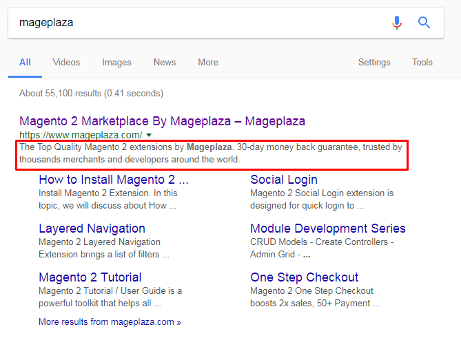 Mageplaza SEO Meta Tags for Products