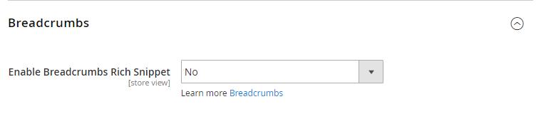Magento 2 SEO Breadcrumbs
