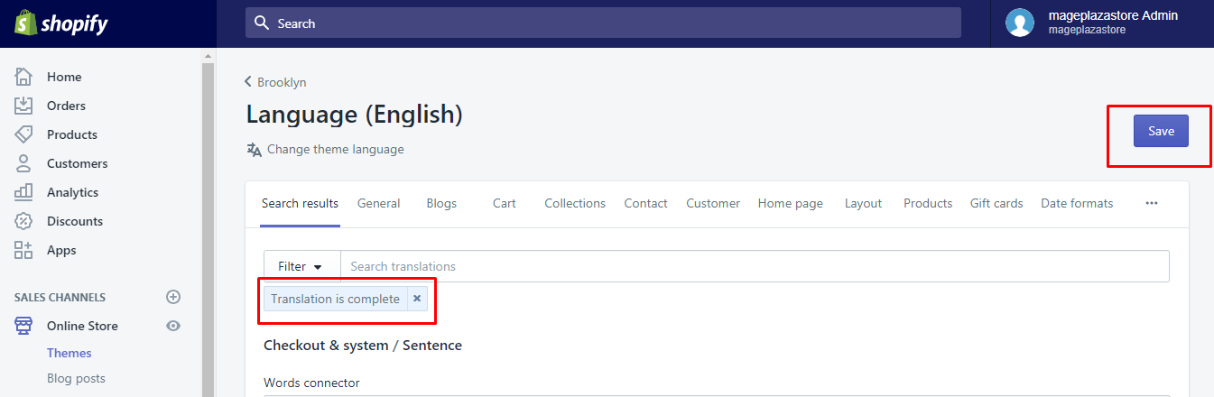 how to search a translation for missing or completed fields