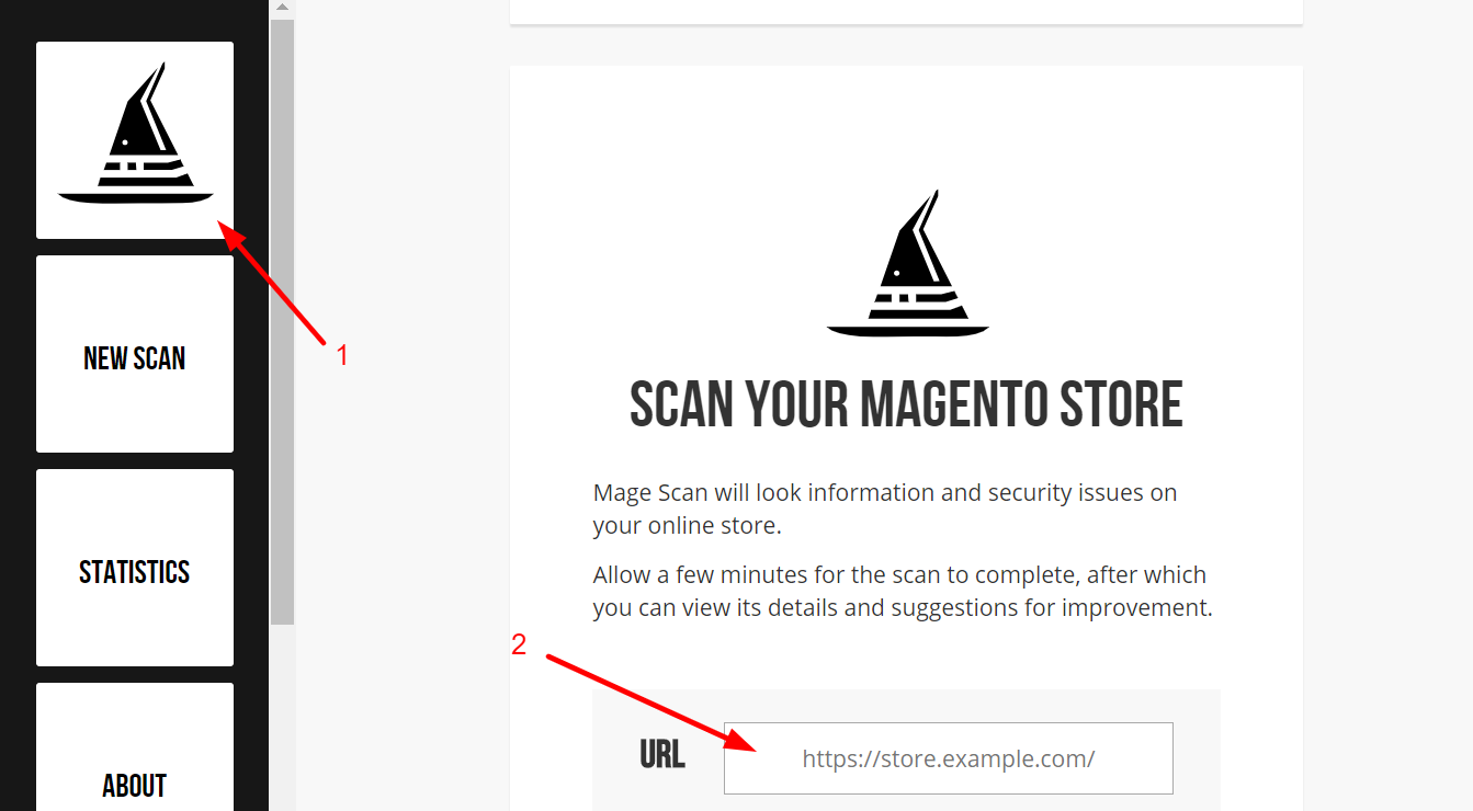 Check version of Magento with Magescan