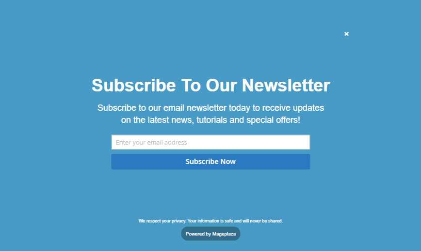 Newsletter Popup for Magento 2