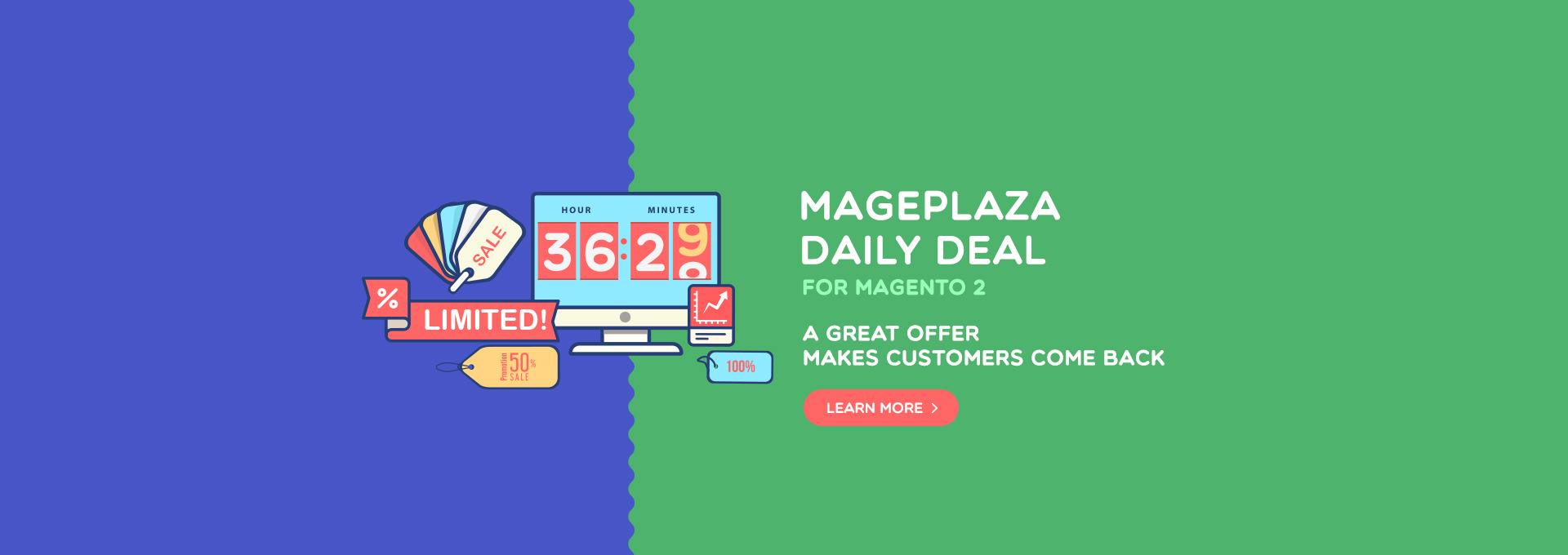 Magento 2 Daily Deal - awesome sales motivation tool