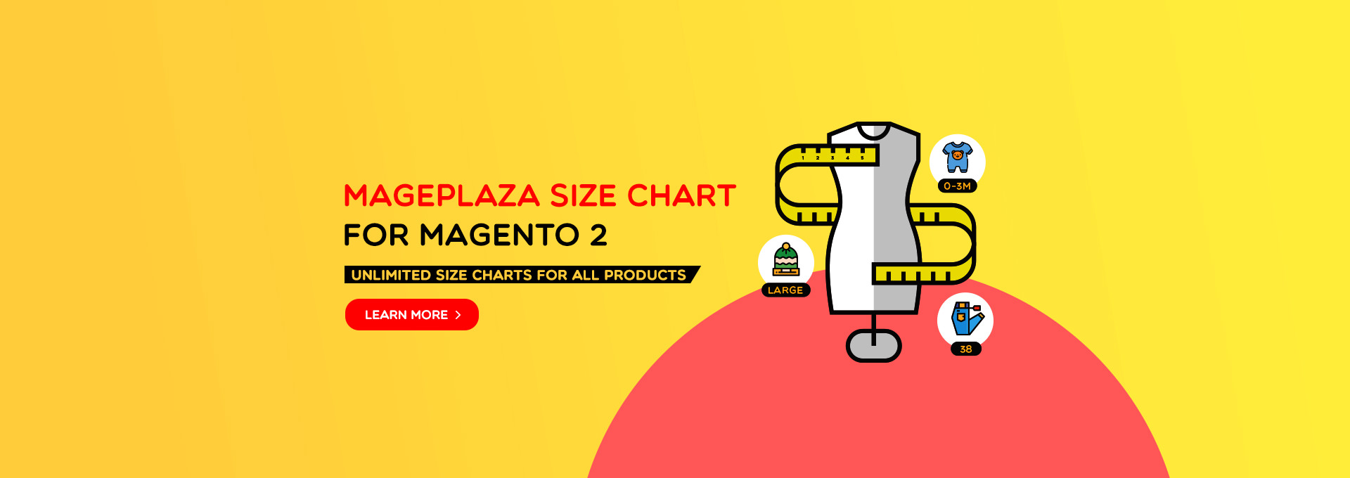 Magento 2 Size Chart - Awesome features