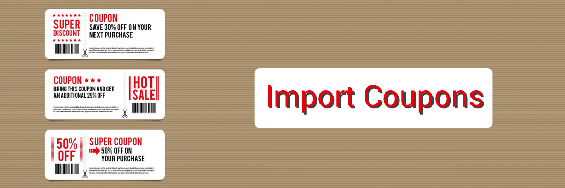 How to Import Coupons Codes in Magento 2