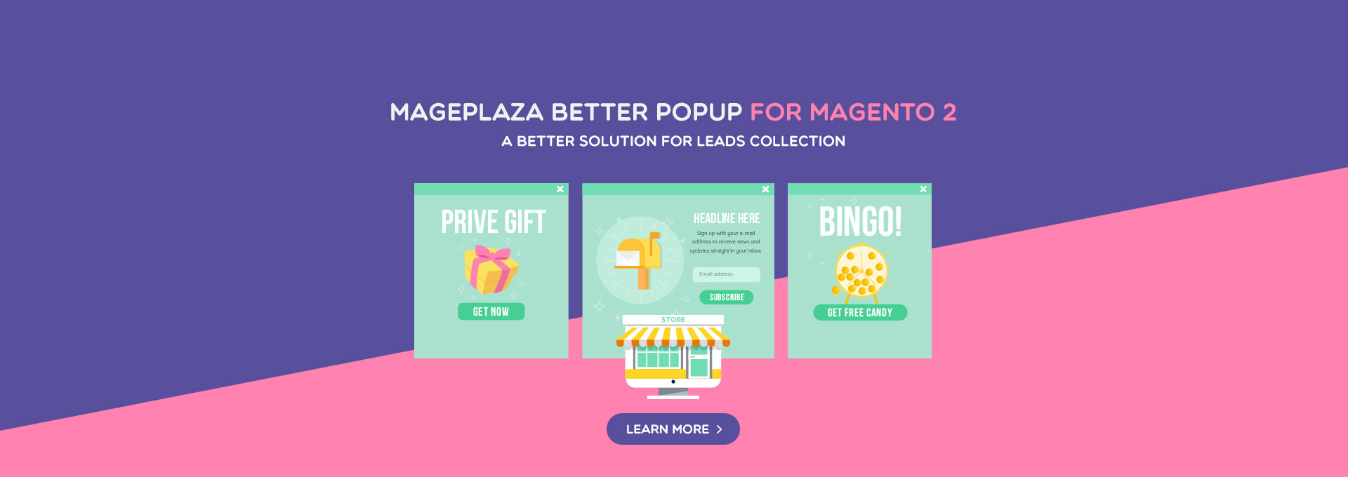 Better Popup - A better solution for leads collection
