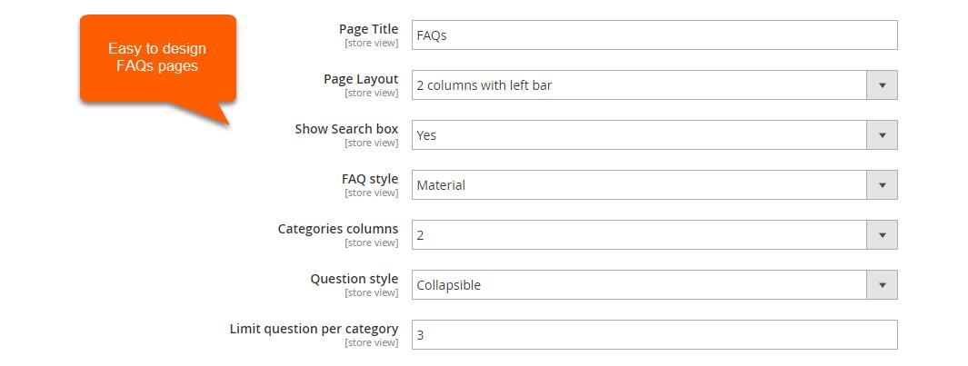 Magento 2 FAQ design-customization