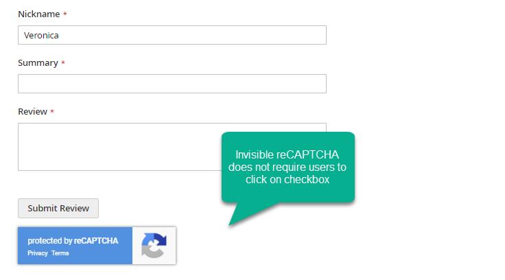 Google reCaptcha mageplaza